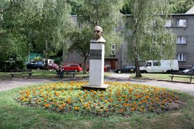 El busto de Pablo Neruda en Praga, foto: Kenyh, CC BY-SA 3.0 Unported