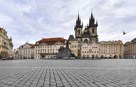 Prague, photo: Aerofilms