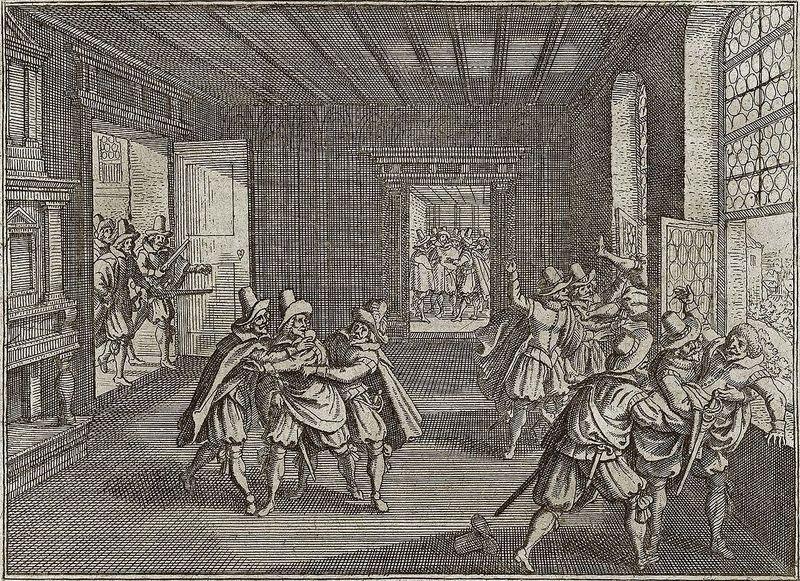 La defenestración de Praga de 1618