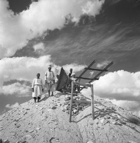 La pirámide de la reina Khentkaues II, foto: Archivo del Instituto Checo de Egiptología