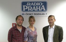 Claude Henry, Tracy Andreotti and Miroslav Krupička