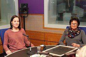 Марта Кубишова и ее дочь Катержина (Фото: Адам Кебрт, Чешское радио)