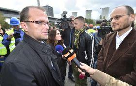 Jan Rovenský (à droite), photo: ČTK