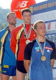 Michal Michalik - bronze medal at the Modern Pentathlon World Championships in Italy, photo: CTK