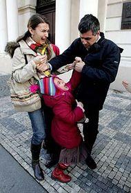 "Winning image ""Child Custody Battle"", photo: CTK"