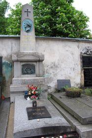 La tombe de Božena Němcová, photo: Kristýna Maková