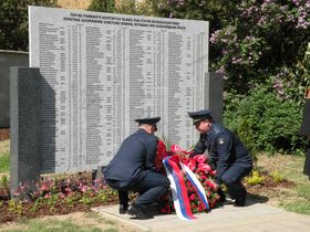 27 апреля 2018 года состоялось торжественное открытие мемориальной доски с именами павших красноармейцев, фото: Александра Баранова