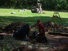 Archäologen haben Gräber von KZ-Opfern in Lety entdeckt (Foto: ČTK / Václav Pancer)