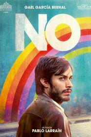 Póster oficial de la película 'No'