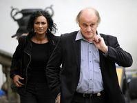 Michael Kocáb avec sa porte-parole Lejla Abbasová, photo: CTK
