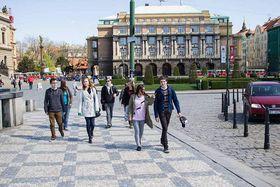 Здание Карлова университета в Праге, Фото: Фейсбук Марека Пржигоды