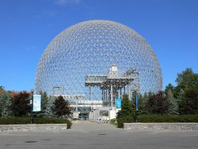 Павильон США на международной выставке EXPO 67, Фото: Philipp Hienstorfer, GFDL
