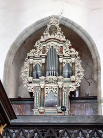 Орган костела св. Вита в Чешском Крумлове, Фото: Wolfgang Sauber, CC BY-SA 3.0
