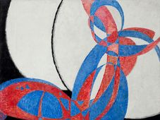 František Kupka - 'Amorpha: Fugue in Two Colours', photo: National Gallery