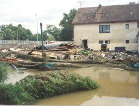 Hochwasser in Südböhmen