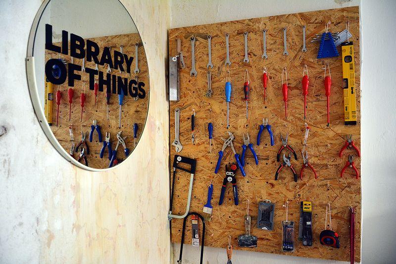 Library of Things, photo: Tomáš Zahrádka