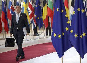 Andrej Babiš, photo: Olivier Matthys /AP/ČTK