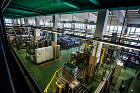 Large scale brewing in the 21st century requires automation, photo: archive of Starobrno brewery