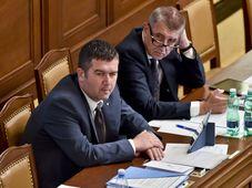 Jan Hamáček et Andrej Babiš, photo : ČTK / Vít Šimánek