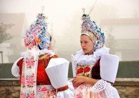 Национальный костюм из области Южной Моравии, Фото: архив г. Угерски Острог