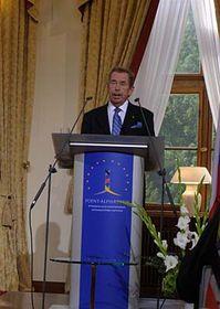 Václav Havel, photo: Gerald Schubert