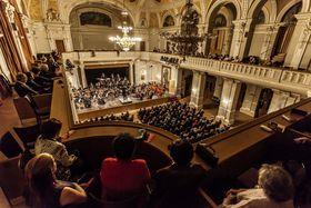 Großer Konzertsaal (Foto: Archiv der Pilsner Philharmonie)