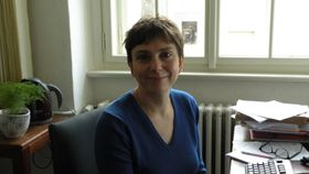 Дита Лимова, фото: Чешское радио - Радио Прага