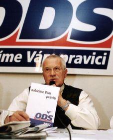 Вацлав Клаус, фото ЧТК