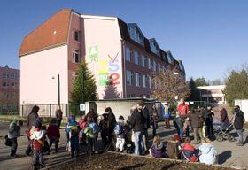 Základní škola na sídlišti Máj vČeských Budějovicích, foto: ČTK
