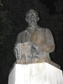 La statue d'Ernest Denis, photo: Magdalena Hrozínková