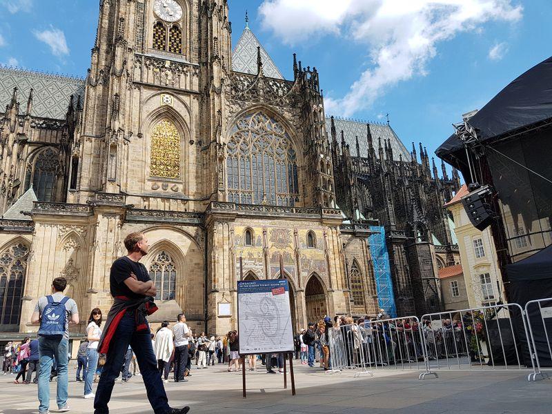 La cathédrale Saint-Guy, photo: Ondřej Tomšů