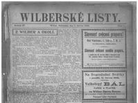 Wilberské listy, foto: Nebraska Newspapers