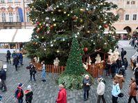 Prager Weihnachtsmarkt auf dem Altstädter Ring (Foto: Barbora Němcová)