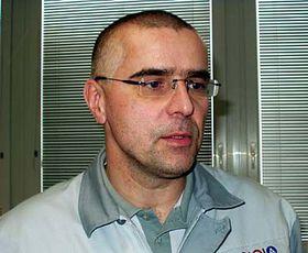 Ředitel závodu Jiří Černý