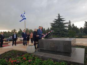 Miloš Zeman in Israel (Foto: Štěpán Macháček, Archiv des Tschechischen Rundfunks)