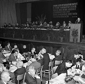 Le IIIe Congrès des Ecrivains, 1963, photo: CTK