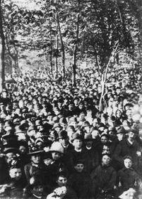 1 мая 1890 г., Стрелецкий остров, Прага, Фото: открытый источник
