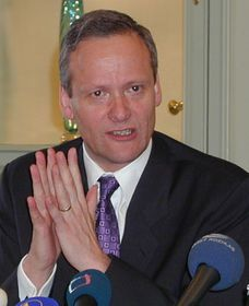 Foreign Minister Cyril Svoboda