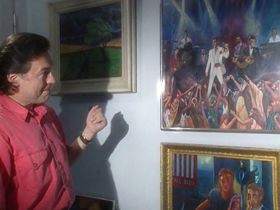 Karel Gott, el pintor que canta, foto: ČT / el programa GEN