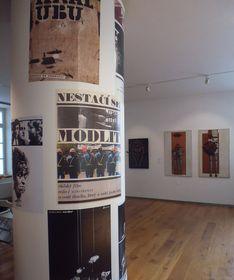 Výstava obrazů Libora Fáry vMuzeu Kampa, foto: Miroslav Krupička