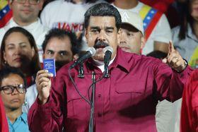 Nicolas Maduro, foto: ČTK/AP/Ariana Cubillos