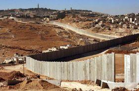 El muro entre Israel y Palestina, foto: CTK