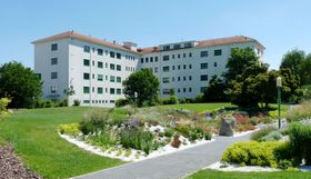 Больнице в городе Ческе Будейовице, фото: Cheva CC BY-SA 3.0