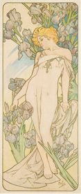 Alfons Mucha, 'L'Iris', photo: Musée de l'Art et de l'Industrie
