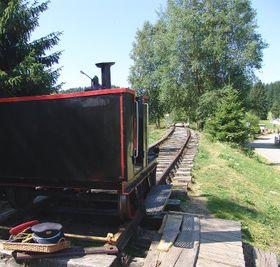 Eisenbahn in Nové Údolí (Foto: Archiv des Tschechischen Rundfunks - Radio Prag)