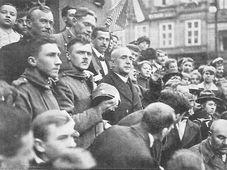 Declaración de la Primera República Checoslovaca, fuente: public domain