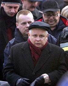 Polský prezident Lech Kaczynski, foto: ČTK