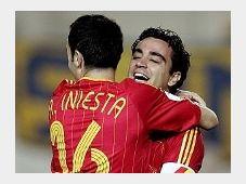Iniesta y Xavi, foto: www.fcbarcelona.es