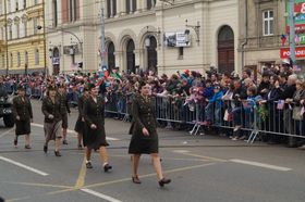 Feiern der Freiheit in Pilsen (Foto: Archiv des Tschechischen Rundfunks - Radio Prag)