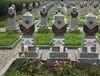 Могилы красноармейцев на Ольшанском кладбище в Праге, фото: Владимир Поморцев